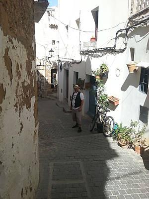 Улицы внутри крепости.