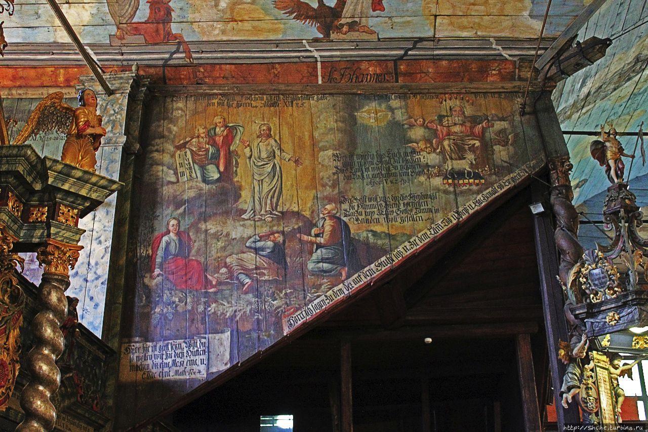 Деревянная артикулярная церковь Св. Троицы Кежмарок, Словакия