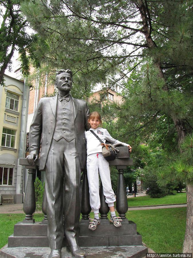 Валерия и Антон Павлович.