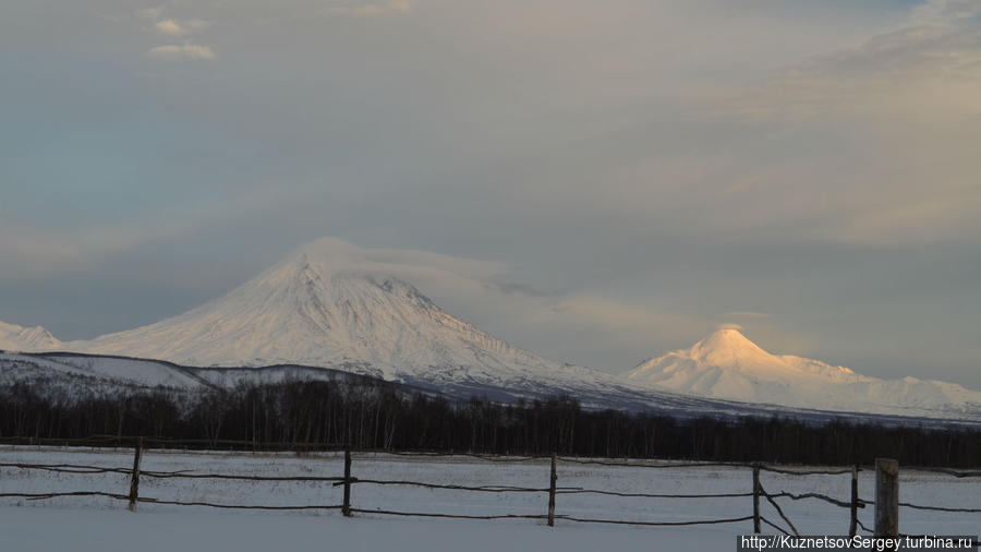 Вулканы от Этнокультурного комплекса