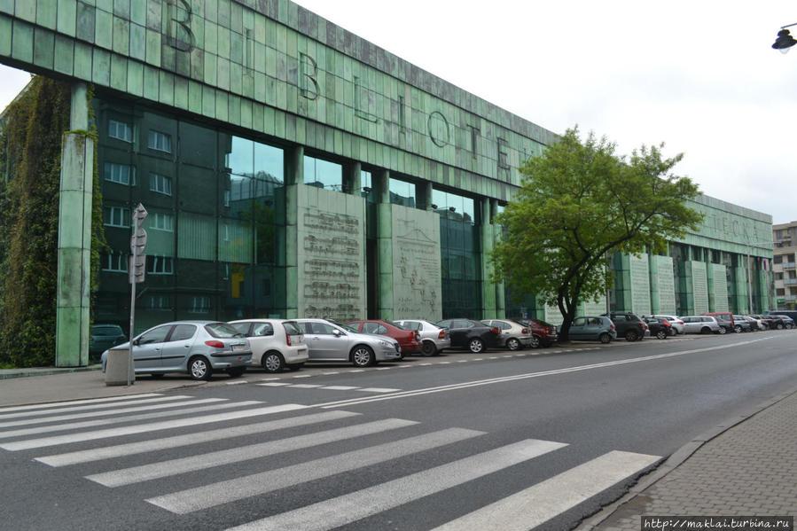 Библиотека Варшавского университета.