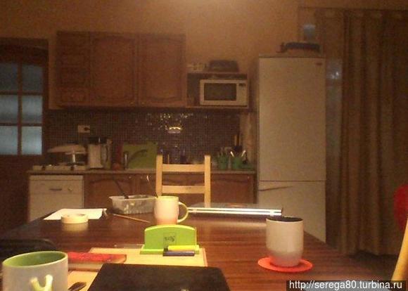 Кухня и холл