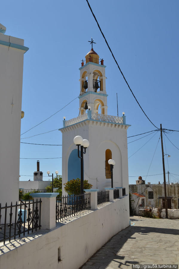 Церковь Успения Пресвятой Богородицы Эмбона, остров Родос, Греция