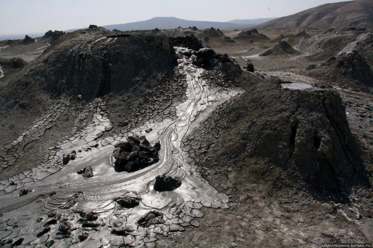 Грязевые вулканы Гобустана Гобустан, Азербайджан