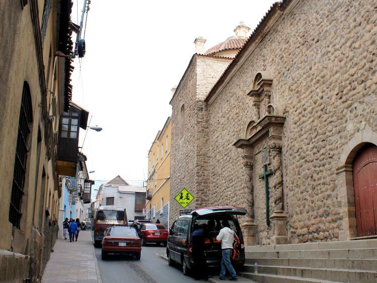 Стена храма по ул. Nogale