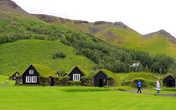 Исландские деревенские дома