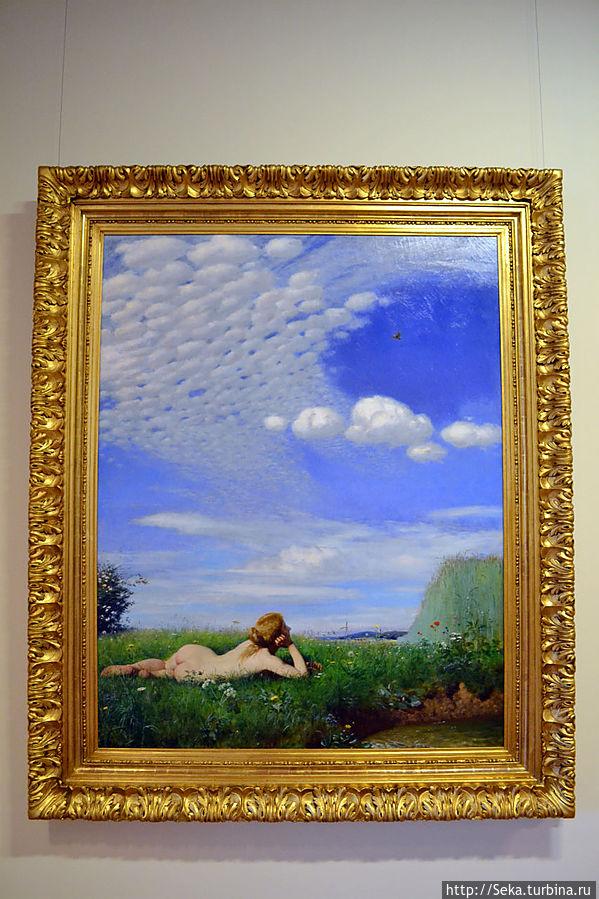 Пал Синьеи-Мерше. Жаворонок, 1882