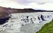 Водопад Гюдльфосс с левого берега (из интернета)