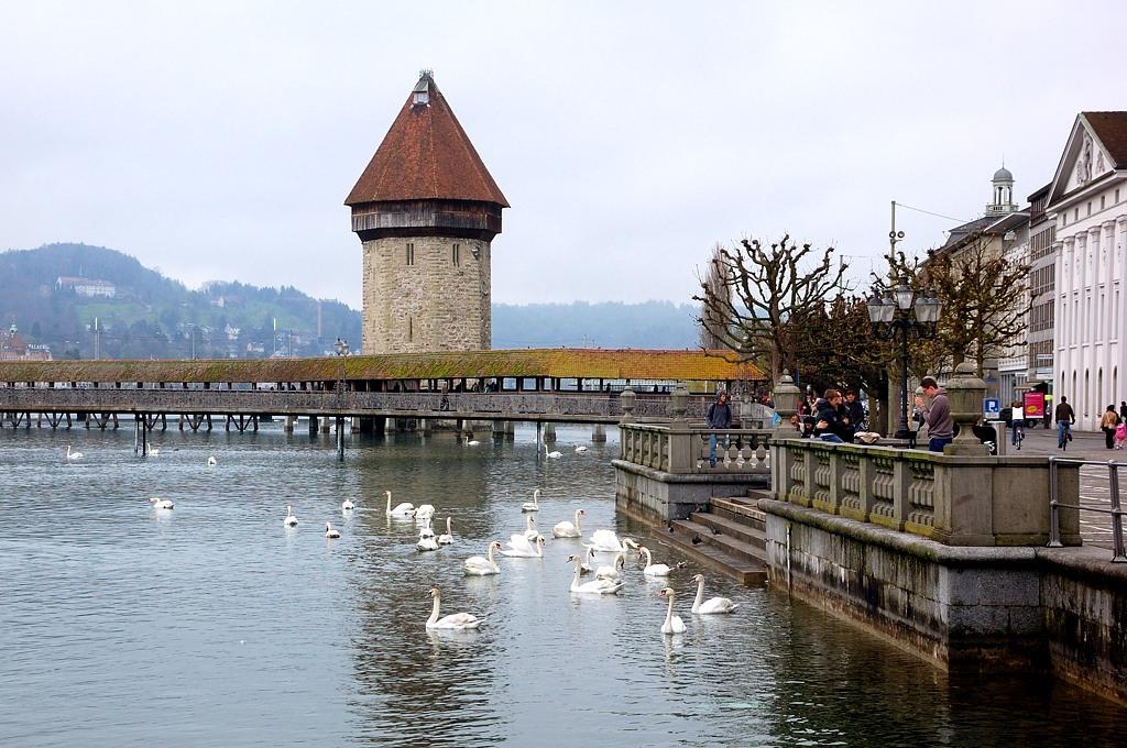Что можно успеть за 3 дня? Стены и башни Люцерна Люцерн, Швейцария