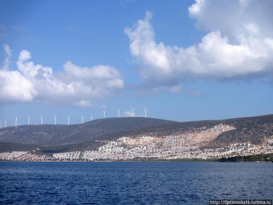 Акбюк (Akbük) — красивый курортный городок рядом с Дидимом Дидим, Турция