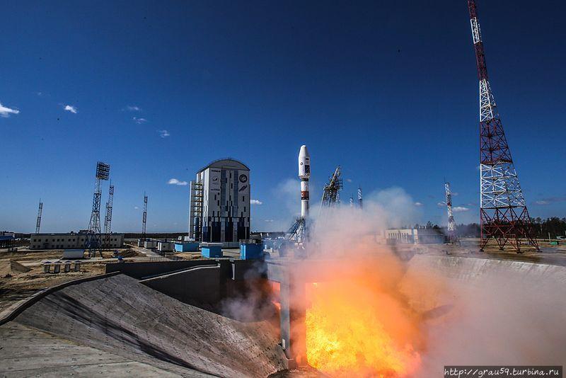 Запуск ракеты-носителя «С