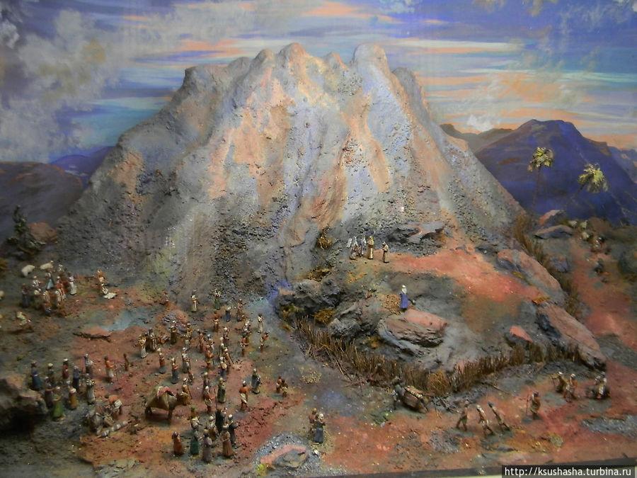 макет горы Синай