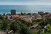 Вид на курорт с верхней части города