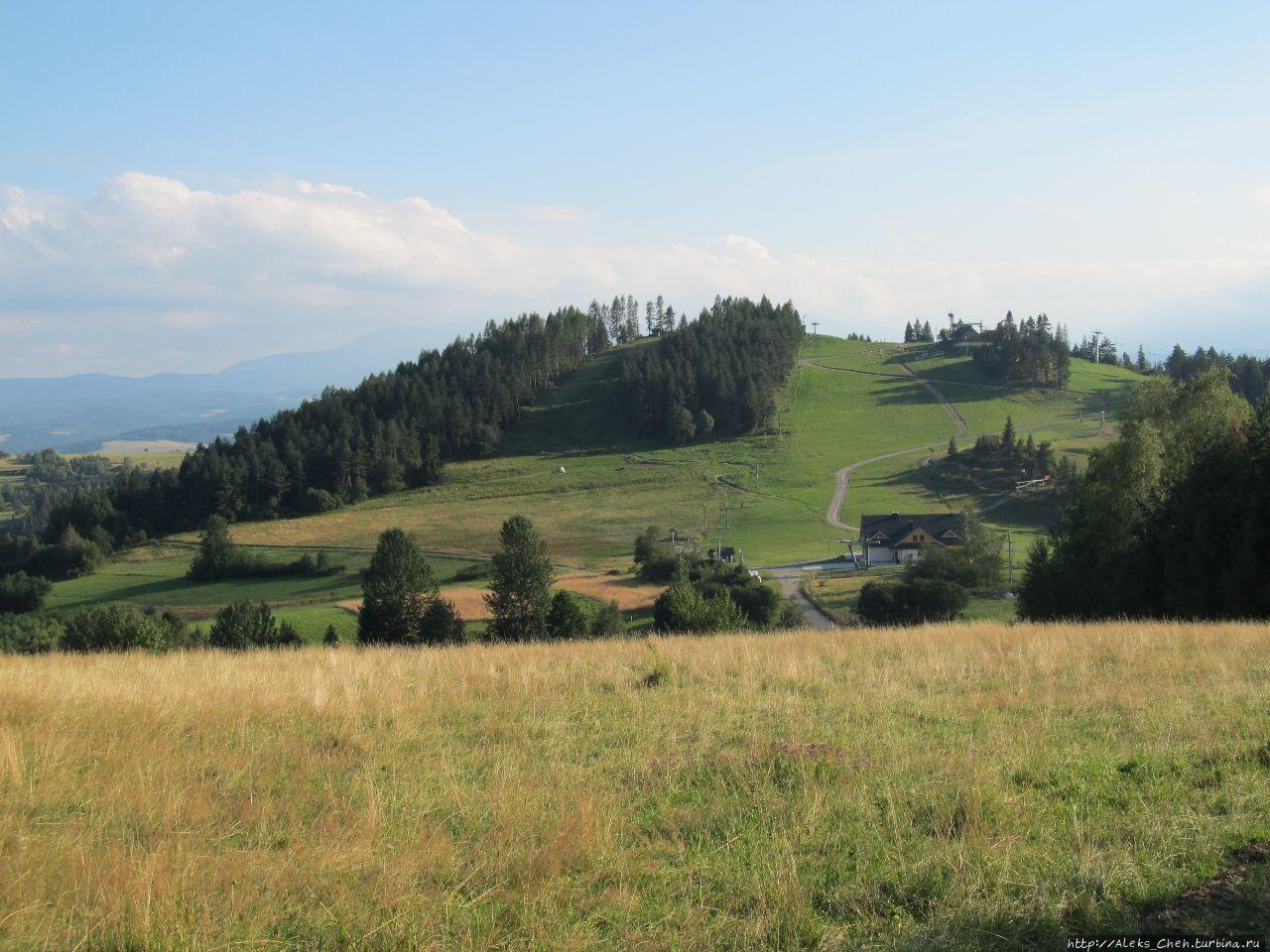 Гора Вджар:лыжные трасы и магнитные аномалии бывшего вулкана