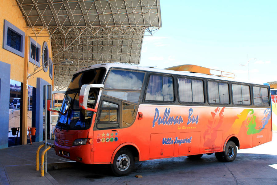 Автобус маршрута Потоси — Сукре