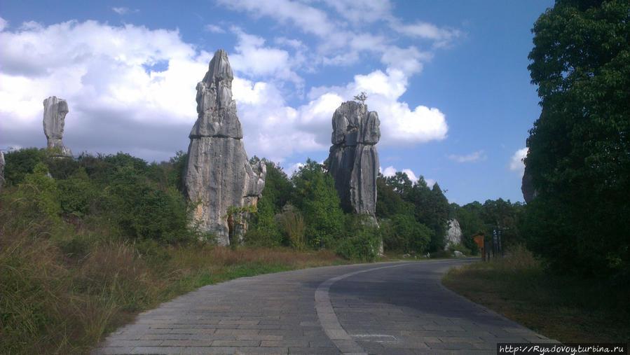 Каменный лес Шилин Куньмин, Китай