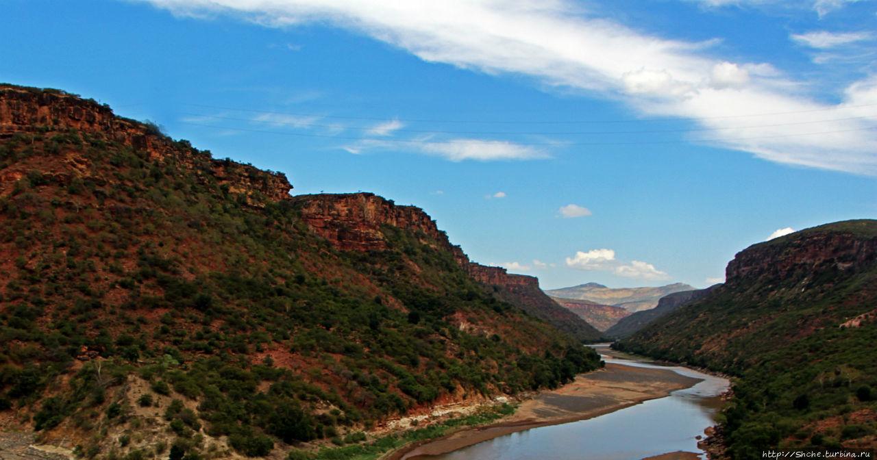 Африканская Аризона. Большой каньон Голубого Нила Столичный регион, Эфиопия
