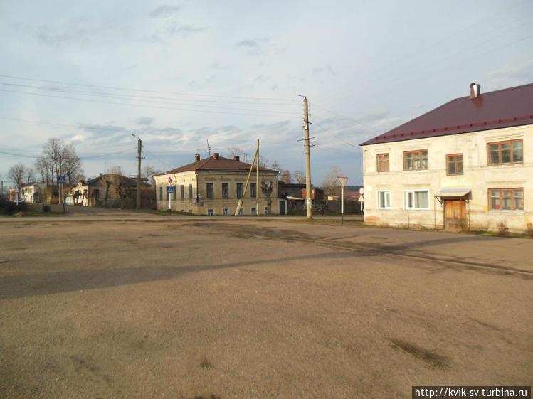 Перекресток  улицы  Киров