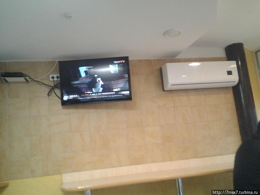 Телевизор и сплит система