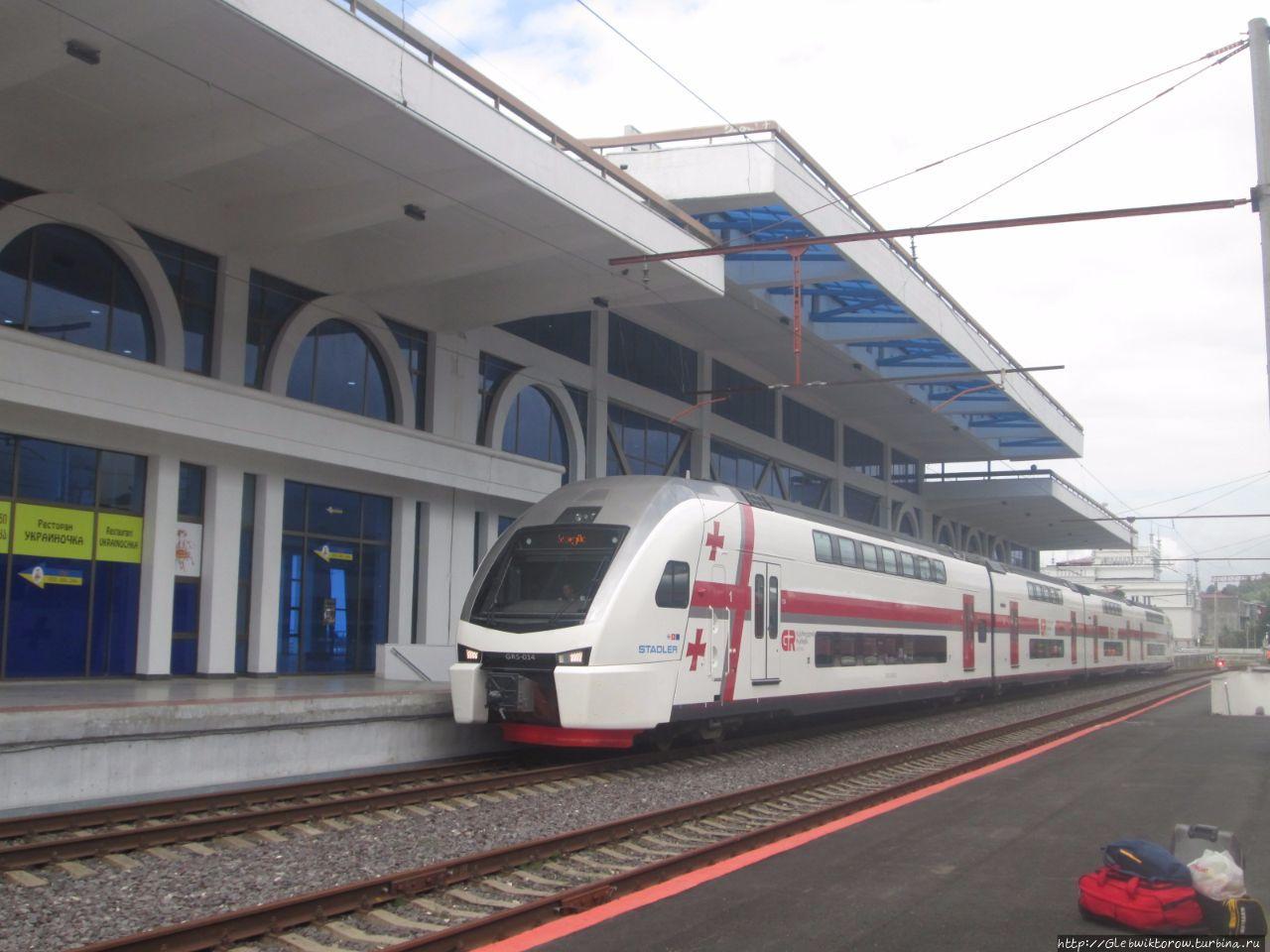 Поезд тбилиси батуми схема