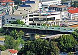 Так виден мост со стен крепости Хисаря