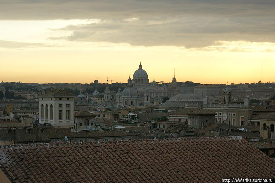 вид на Пантеон и Собор Св.Петра