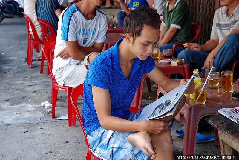 Местный рынок Нячанг, Вьетнам