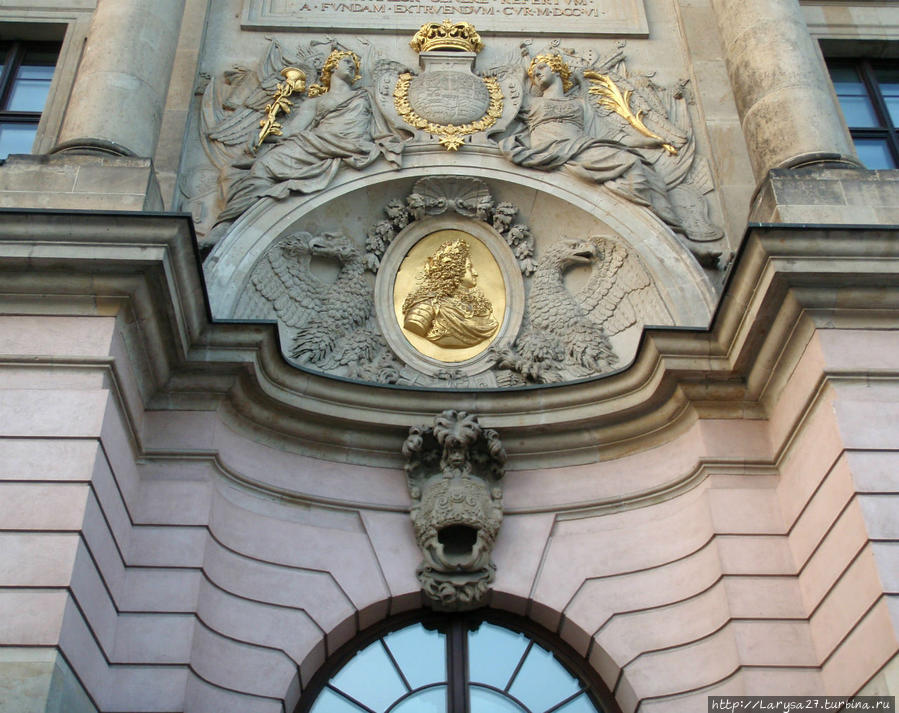 Главный портал Цейхгауза