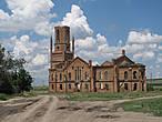 Лютеранская кирха в поселке Усть-Золиха Саратовской области