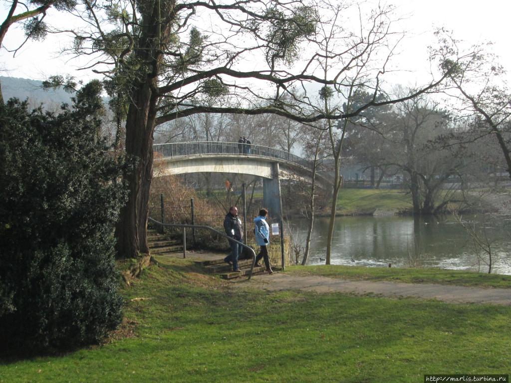 Salinental — парк в долине реки Нае