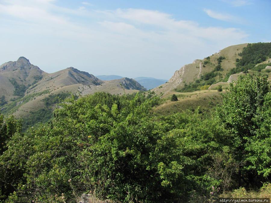 Ущелье Панагия, Зеленогорье и озеро Зеленогорье, Россия