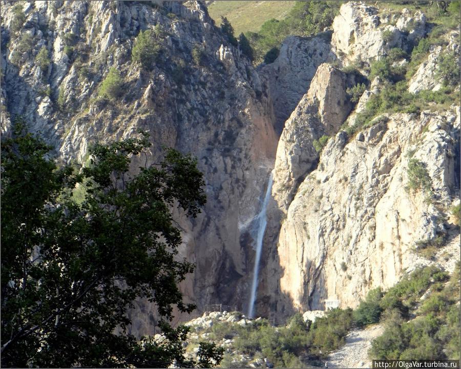 Большой водопад Арсланбоб, Киргизия