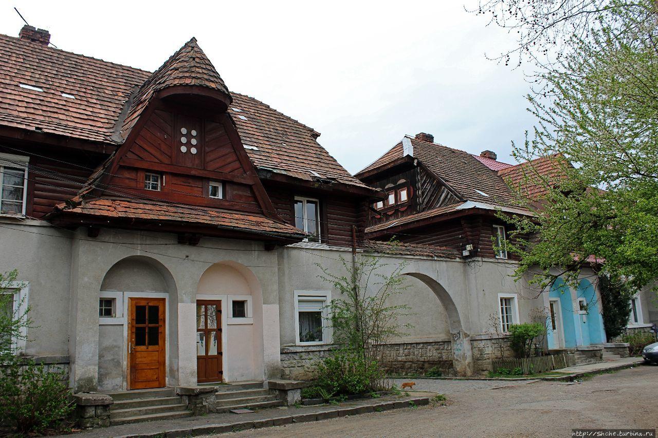 Историческое наследие... Чешский квартал в Хусте