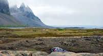 Долина, в которой деревня и крепость викингов