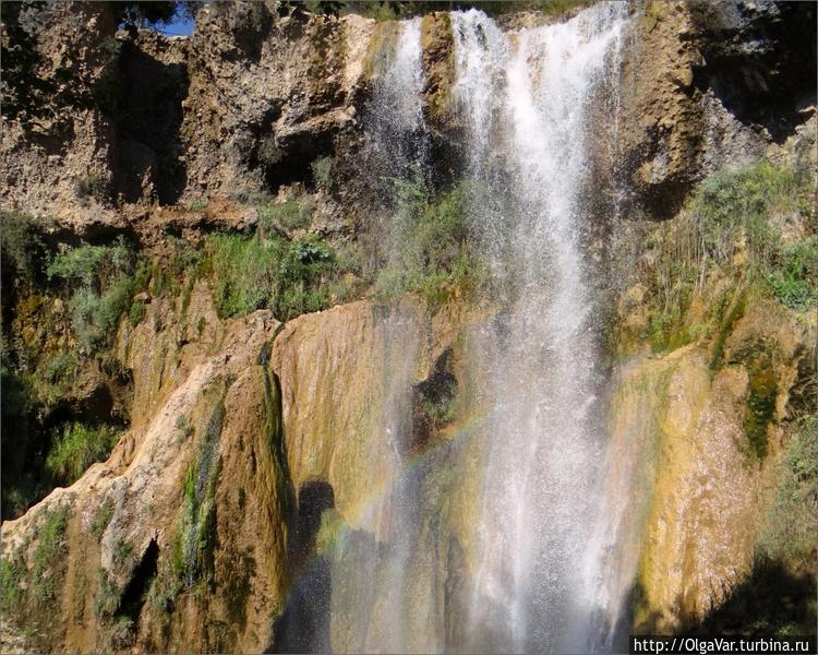 Киргизия — радужный водоп