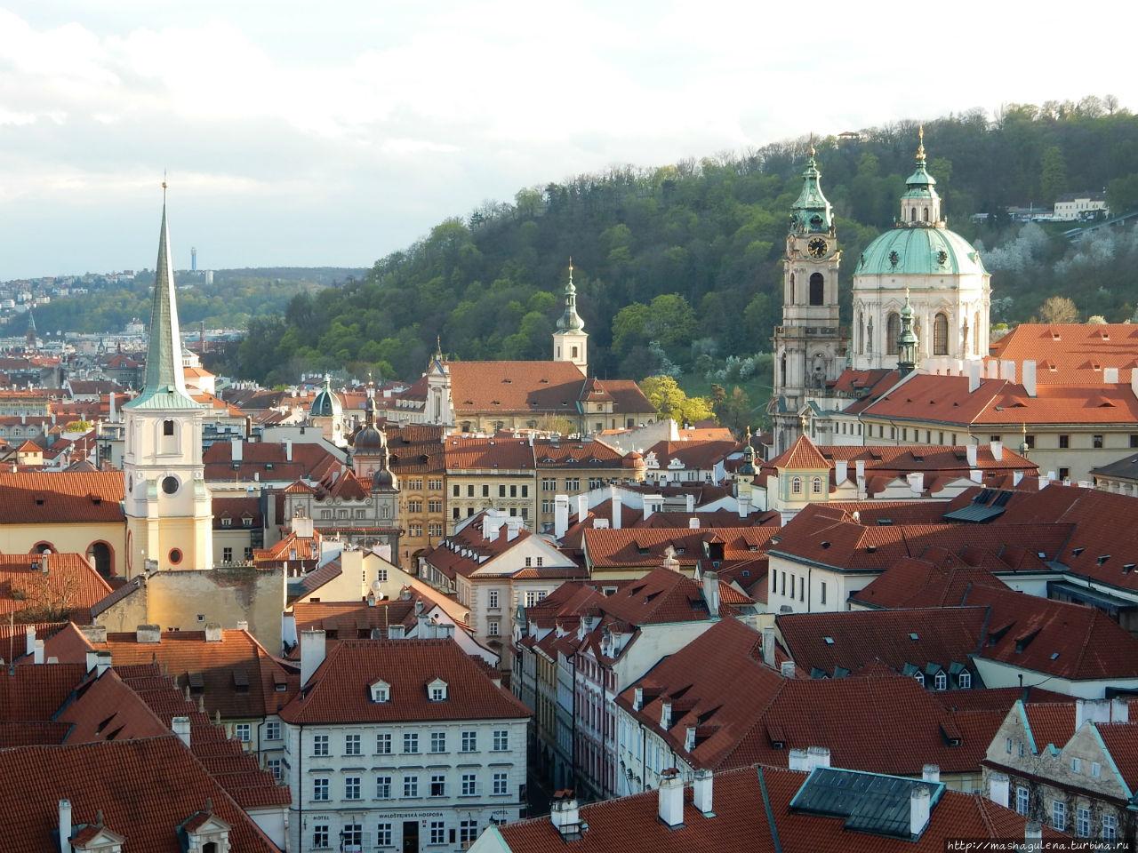 Прага. Восхождение на Петршин