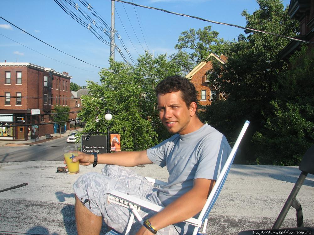 Андрей Алмазов в Кентуки
