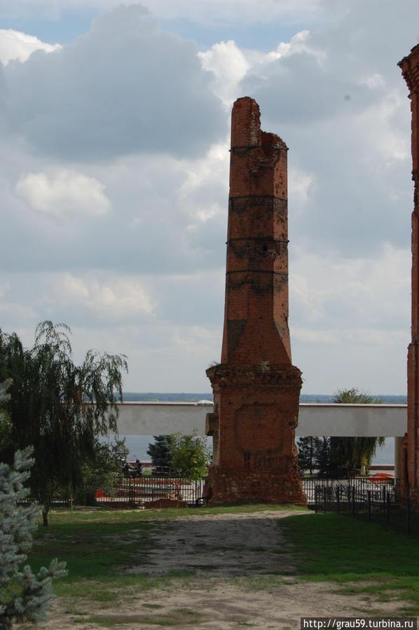 Руины котельной