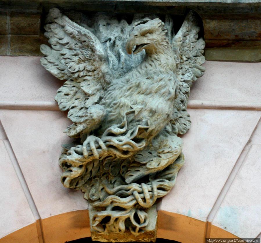 Орёл — царь среди птиц — символ храбрости, величия, победы, власти.