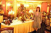 ресторан Коперник в Рождественском одеянии