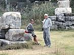 На руинах храма Артемиды.