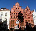Fährstr. 23, дом XIV в., в котором родился и провел детство знаменитый немецко-датский химик Карл Вильгельм Шееле