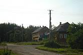 перекресток Пушкина и Первомайской. моя улица упирается в лес Жуковку