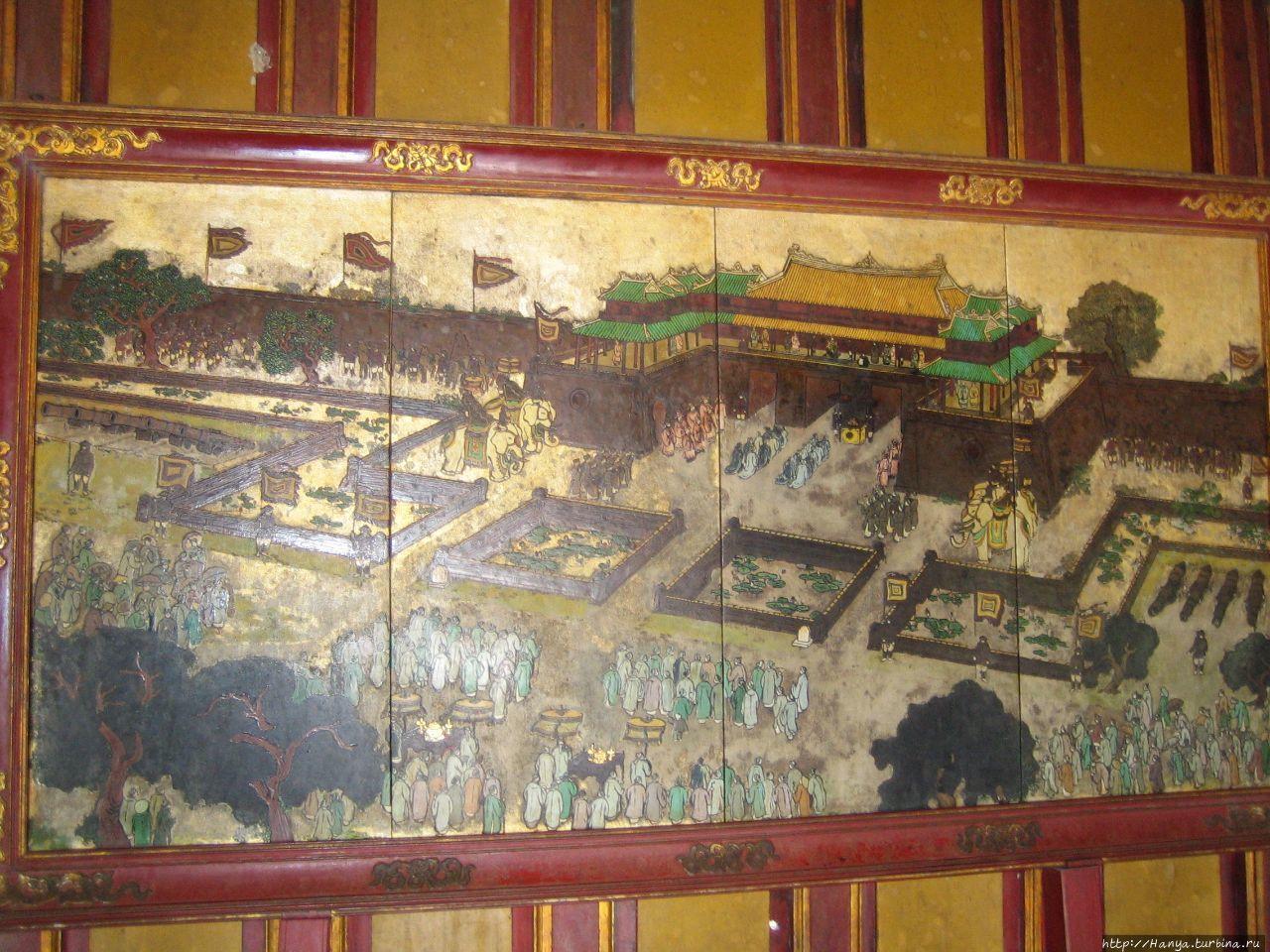 Хюэ. Императорский дворец