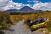 Идеальный конус вулкана Ngauruhoe (2291 м)