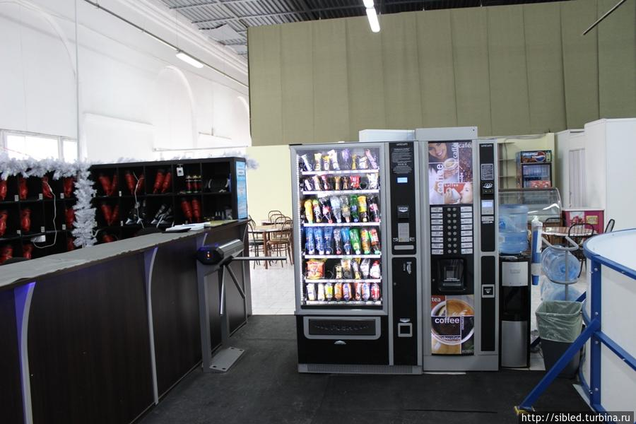 Кофе и снек автоматы