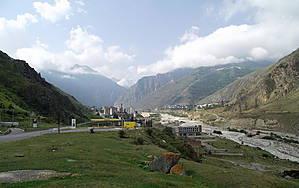 городок в горах -Тырныауз