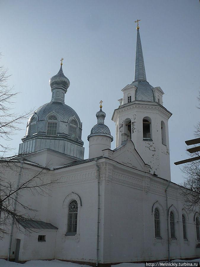 Николо-Медведский монастырь Новая Ладогa, Россия