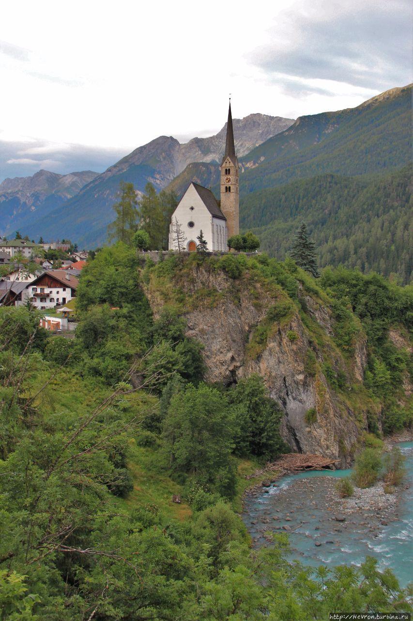 Жемчужина нижнего Энгадина Скуоль, Швейцария