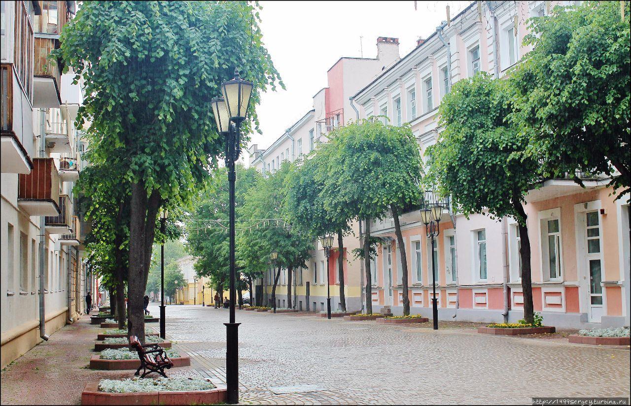 Граффити Витебска. Марк Шагал и царь Иван Васильевич